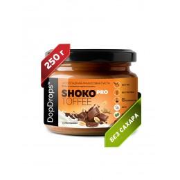 DopDrops. Паста ореховая натуральная Shoko Pro Toffee - 250 г