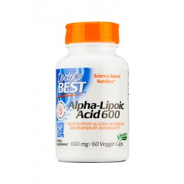 Doctor's Best. Alpha Lipoic Acid 600 мг - 60 капс