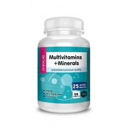 Chikalab. Multivitamins+Minerals - 60 таб