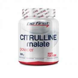 Be first.Citrulline malate 300 гр без вкуса