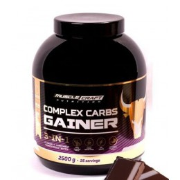 Musclecraft Gainer.Complex Carbs (2500g)