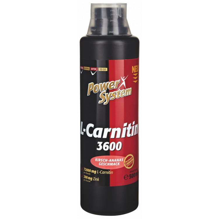 Power System L-Carnitin 3600 500ml