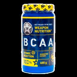 Weapon Nutrition.BCAA 2-1-1 Atomic Reaction 400 грамм