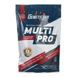 GeneticLab. Multi Pro 50% Whey/40%Casein/10%Egg - 1000 г