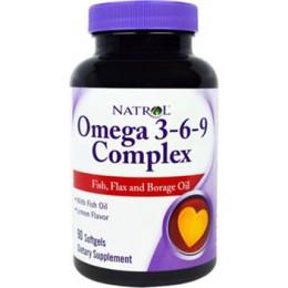 NATROL Omega 3-6-9 Complex 90caps